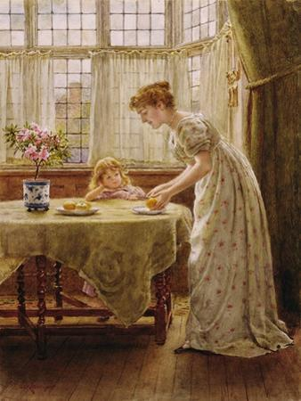 Afternoon Treat by George Goodwin Kilburne