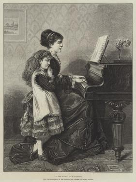 At the Piano by George Goodwin Kilburne