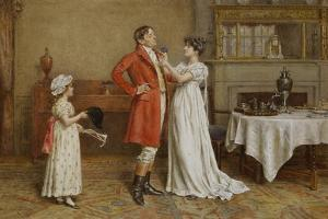 I Wish You Luck by George Goodwin Kilburne