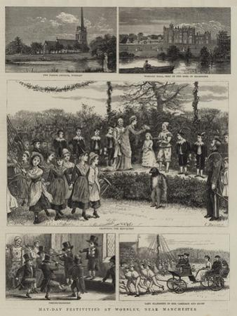 May-Day Festivities at Worsley, Near Manchester