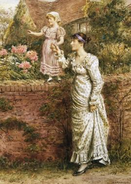 The Balancing Act by George Goodwin Kilburne