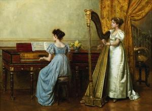 The Duet by George Goodwin Kilburne