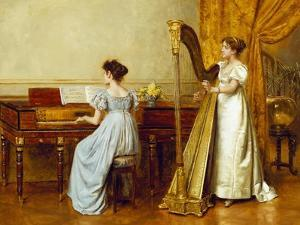 The Music Room by George Goodwin Kilburne