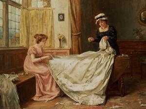 The Wedding Dress by George Goodwin Kilburne