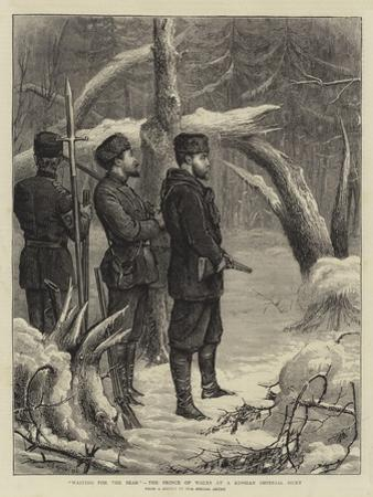 Waiting for the Bear, the Prince of Wales at a Russian Imperial Hunt