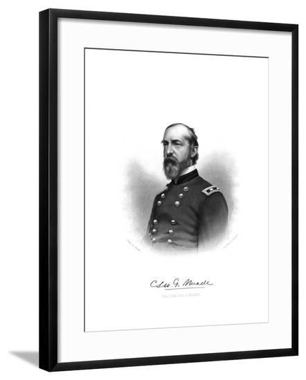 George Gordon Meade--Framed Giclee Print