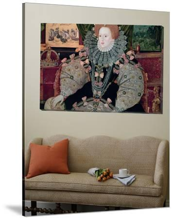 Elizabeth I, Armada Portrait, circa 1588 by George Gower