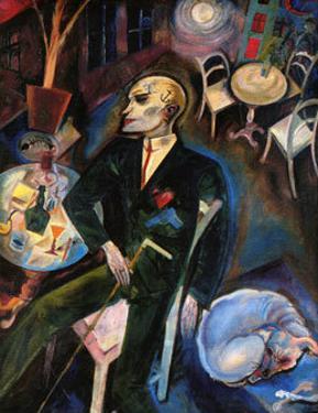 The Malady of Love, c.1916 by George Grosz