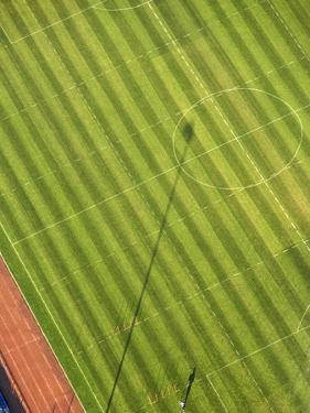 Soccer field by George Hammerstein