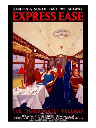 Express Ease, LNER Poster, 1923-1930