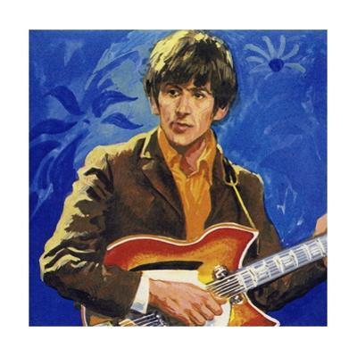 George Harrison of the Beatles