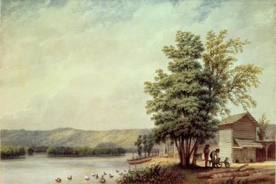 Cirro Cumulus - Houses on a Tobacco Plantation, Virginia, C.1830-40