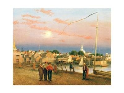 Newport, End of the Day, 1851