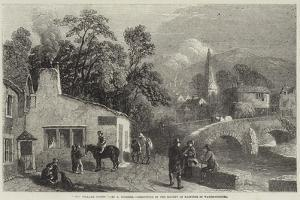 The Village Smithy, Exhibition of the Society of Painters in Water-Colours by George Haydock Dodgson