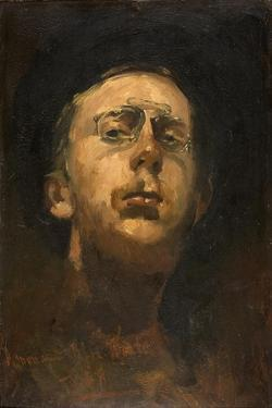 Self-Portrait with Pince-Nez, C. 1882 by George Hendrik Breitner
