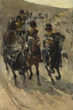 The Yellow Riders, 1885-86 by George Hendrik Breitner