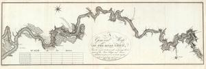 General Map of The River Ohio, c.1796 by George Henri Victor Collot