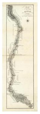 Map of the Course of The Mississippi from the Missouri, c.1796 by George Henri Victor Collot