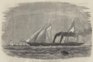 Her Majesty's Gun-Boat, Flying-Fish by George Henry Andrews