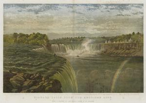 Niagara Falls from the American Side by George Henry Andrews