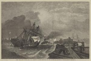 Ship and Crew Saved, in the Exhibition of the Society of Painters in Water Colours by George Henry Andrews