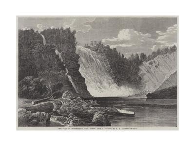 The Falls of Montmorency, Near Quebec