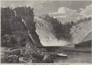 The Falls of Montmorency, Near Quebec by George Henry Andrews