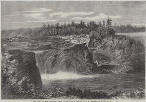 The Falls of the Chaudiere, Near Quebec by George Henry Andrews