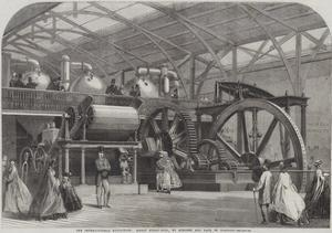 The International Exhibition, Great Sugar-Mill, by Mirlees and Tait, of Glasgow by George Henry Andrews