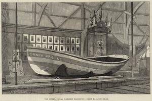 The International Fisheries Exhibition, Grace Darling's Boat by George Henry Andrews