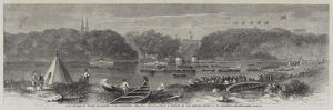 The Prince of Wales in Canada, the Lumberers Regatta, Ottawa by George Henry Andrews