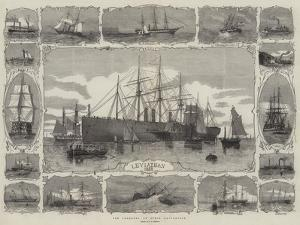 The Progress of Steam Navigation by George Henry Andrews
