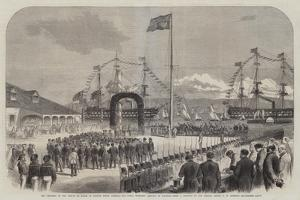 The Progress of the Prince of Wales in British North America, His Royal Highness Landing at Halifax by George Henry Andrews