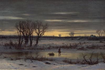 Winter Twilight Near Albany, 1858