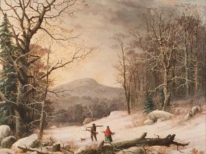 Gathering Wood, 1859 by George Henry Durrie