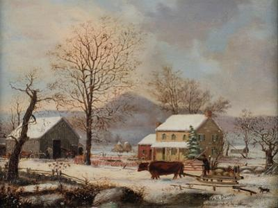 Winter Scene, 1830-60 by George Henry Durrie