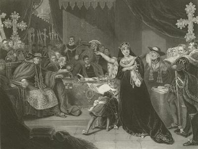 The Trial of Catherine of Aragon, 1529