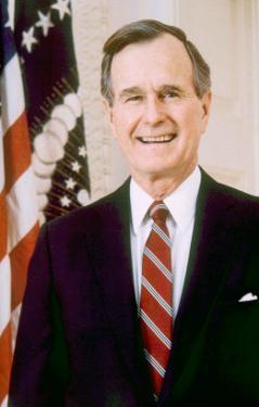 George Herbert Walker Bush, American President