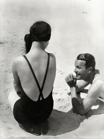 Vogue - July 1931 - Seaside Revelers