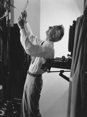 Vogue - June 1941 - Edward Steichen at Work by George Hoyningen-Huené