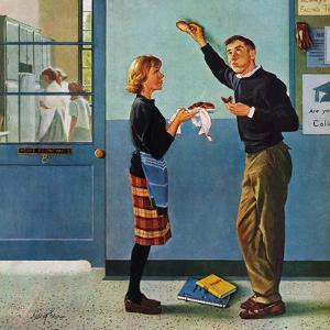 """""""Cookie Tester,"""" May 28, 1960 by George Hughes"""