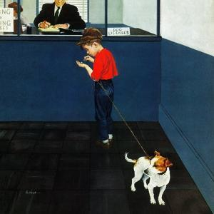 """""""Dog License"""", June 21, 1952 by George Hughes"""