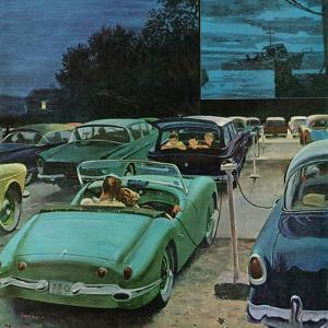 """""""Drive-In Movies,"""" August 19, 1961 by George Hughes"""