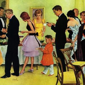 """Hitting the Buffet,"" November 11, 1961 by George Hughes"