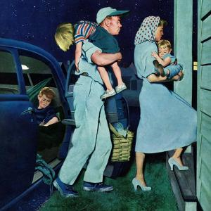 """""""Home at Last"""", September 1, 1951 by George Hughes"""