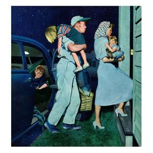 """Home at Last"", September 1, 1951 by George Hughes"