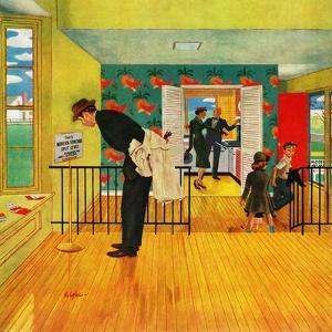 """Model Home"", September 28, 1957 by George Hughes"