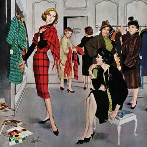 """""""Perfect Fit"""", January 10, 1959 by George Hughes"""