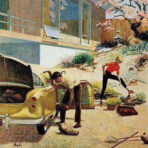 """Rock Garden,"" April 22, 1961 by George Hughes"
