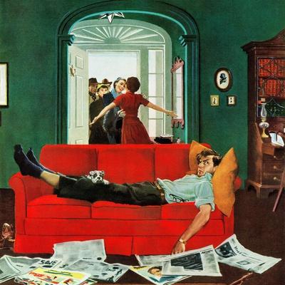 """""""Sunday Visitors"""", February 6, 1954"""